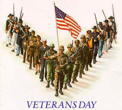 Veterans Day Tribute at the Oak Park Arms Retirement Community