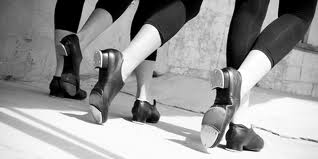Tap dance class is taught by Roberta Kulik at the Oak Park Arms.